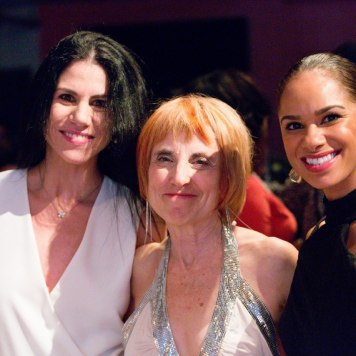 Diane with ABT's Paloma Herrera and Misty Copeland