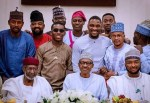 Photos Of Small Doctor With Mohammadu Buhari, Davido, Olamide, Pa James, And Others