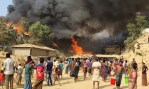 Several Feared Dead as fireplace Tears Through Rohingya Camp in Bangladesh