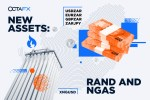 OctaFX Introduces New Currency Pairs and a New Commodity: ZAR Pairs and XNGUSD