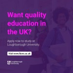 Loughborough University offers the best UK study experience