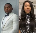 Sandra Iheuwa apologizes to Ubi Franklin's alleged lover Renee for wishing her to be barren, accuses Ubi of cloning her credit card and being a deadbeat dad (video)