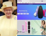 Queen Elizabeth gives sex toy company award for outstanding growth