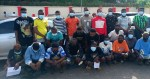 34 suspected internet fraudsters arrested in Owo, Ondo State (photos)