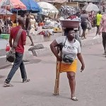 Amputee hawker apologizes to Nigerians for lying; accuses her grandma of trying to blackmail her for money