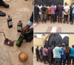 Suspected internet fraudsters and their charms arrested in Kwara (photos)
