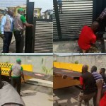 Lagos state government removes gates from adjourning streets in Lekki Phase one (videos)