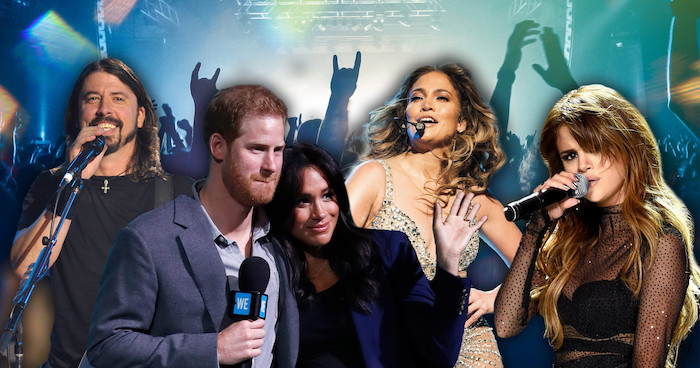 Prince Harry and Jennifer Lopez Lead Covid-19 Charity Concert in Los Angeles