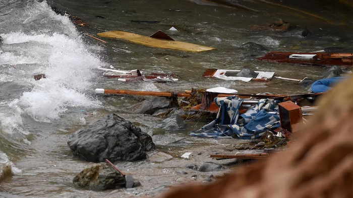 Three Dead, Dozens Hurt as suspected importing Boat Overturns off CA
