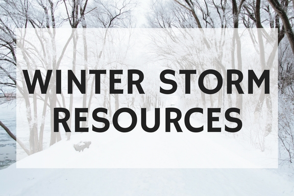 Winter Storm Resources