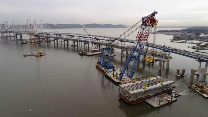 Old Tappan Zee Bridge span is going down in NY history