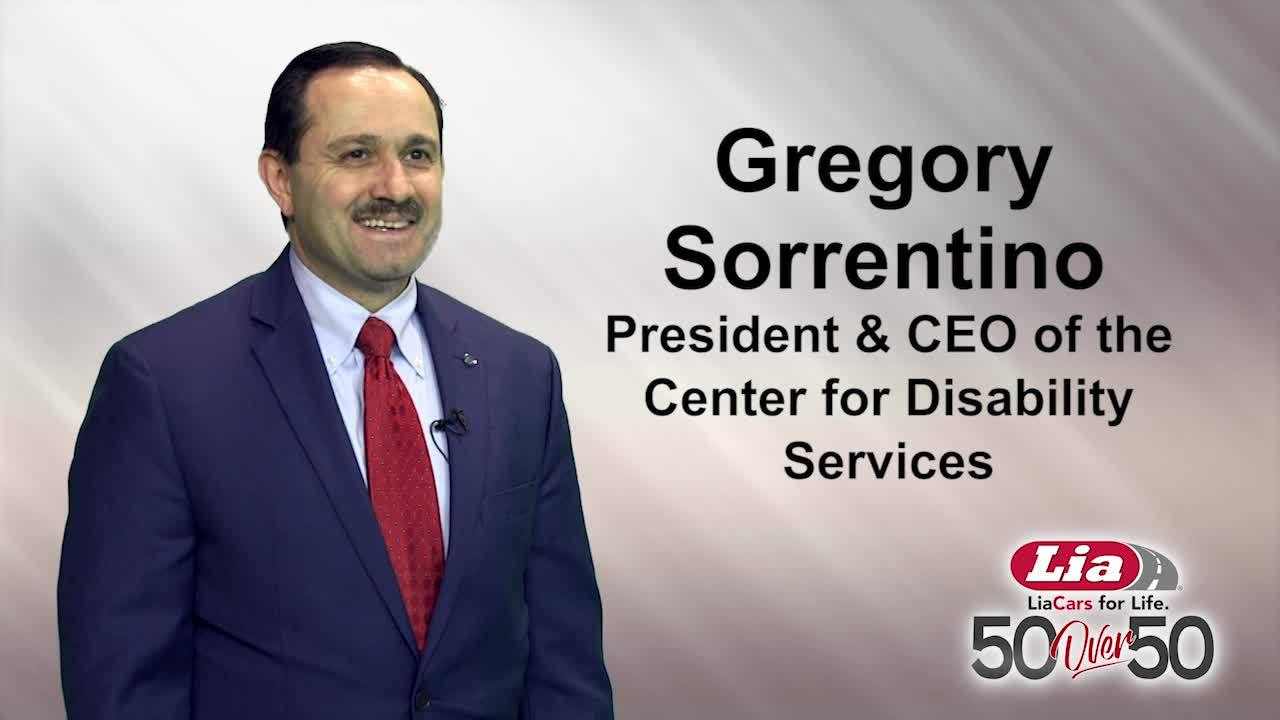 50 Over 50: Gregory Sorrentino