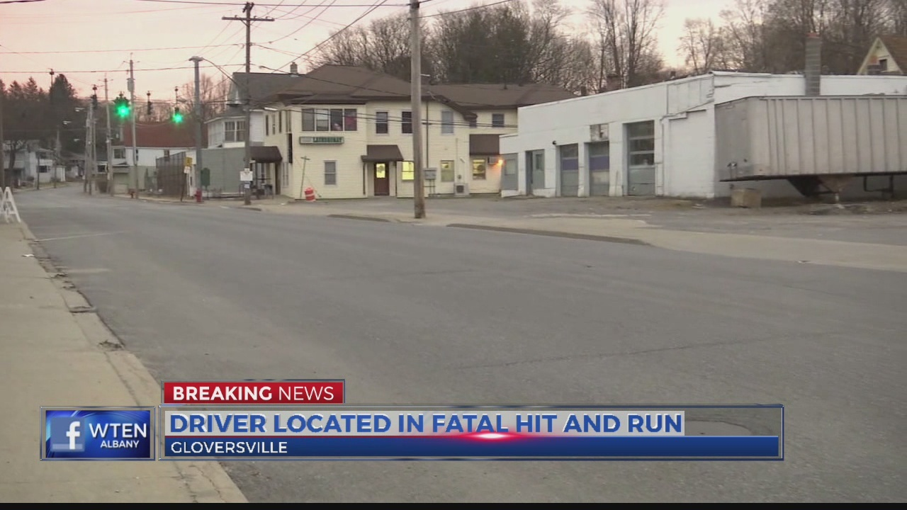 Driver located in fatal hit and run in Gloversville