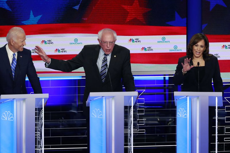 Biden, Sanders, Harris at Democratic Debate Night Two