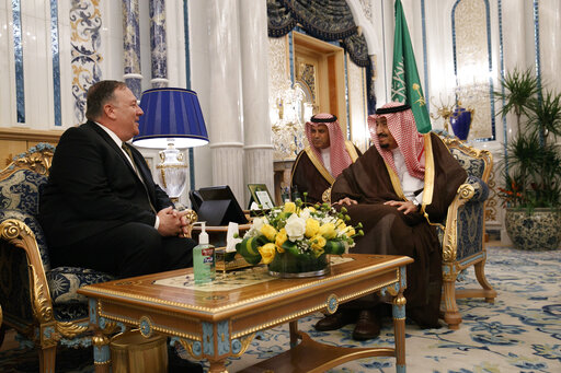 Mike Pompeo, King Salman