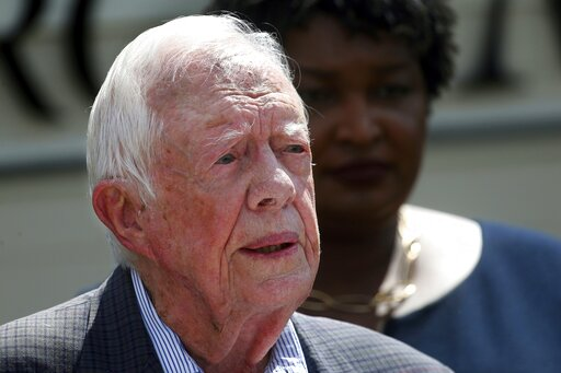 Jimmy Carter, Stacey Abrams