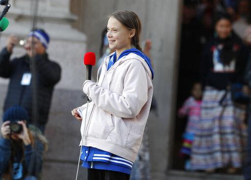 Greta Thunberg, r m