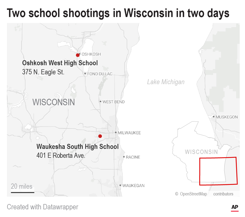 Wisconsin School Shootings