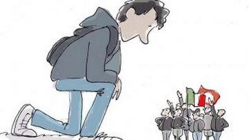 Ιταλία: Ο 15χρονος Σιμόνε, που όρθωσε ανάστημα απέναντι σε ομάδα ακροδεξιών, το νέο αντιφασιστικό σύμβολο της χώρας