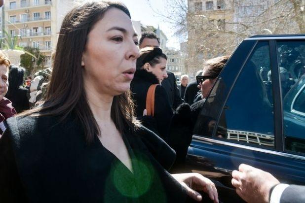 Κηδεία του ηθοποιού Κώστασ Βουτσά στην Αθήνα την Παρασκευή 28 Φεβρουαρίου 2020. (EUROKINISSI/ΤΑΤΙΑΝΑ ΜΠΟΛΑΡΗ)