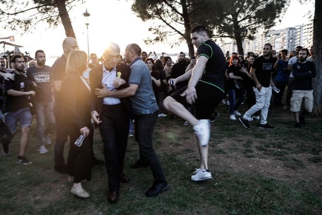 Rally in commemoration of the 103rd anniversary for the victims of the Pontic Genocide, in Thessaloniki, on May 19, 2018 / 103 , , 19 , 2018