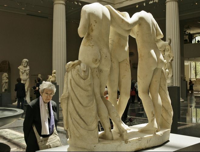 Metropolitan Museum of Art's new Greek and Roman galleries, New York