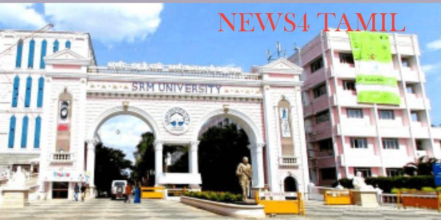 SRM University Students Suicide Death Trending