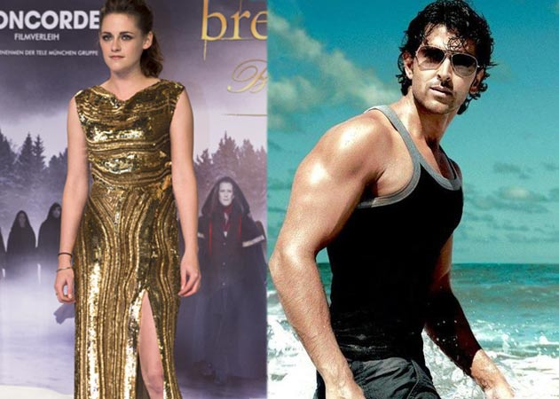 Hollywood actress Kristen Stewart keen to work with Hrithik
