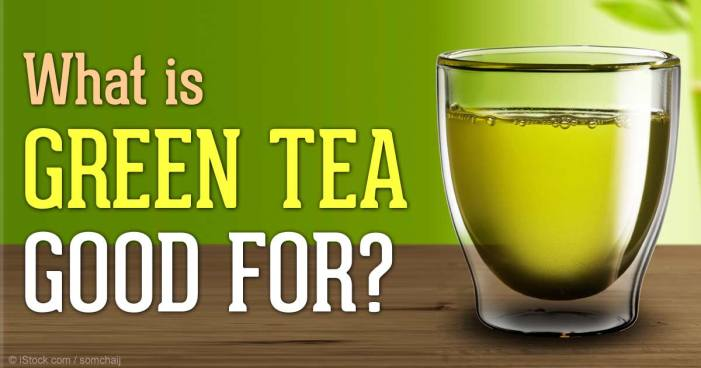 Want to quit smoking? Drink green tea!
