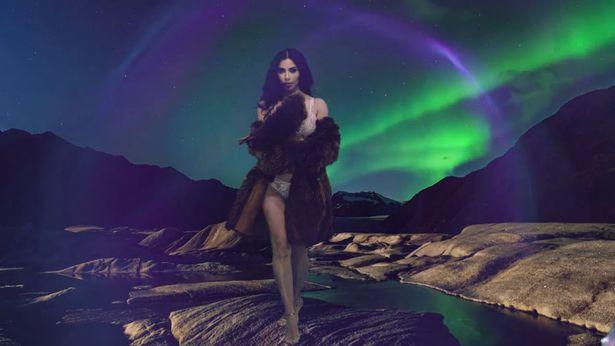 Kim Kardashian-West returns to the fashion spotlight as she stars in LOVE magazine's Advent Calendar