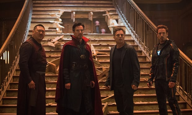 Avengers: Infinity War' : The multi-starrer superhero flick nears 100-crore mark in first weekend