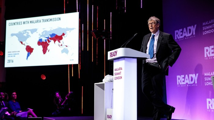 Gates backs gene technologies in fight to end malaria