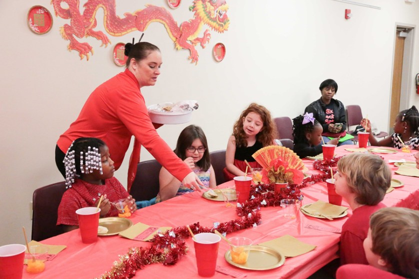 Lamar Library celebrates the Year of the Dog