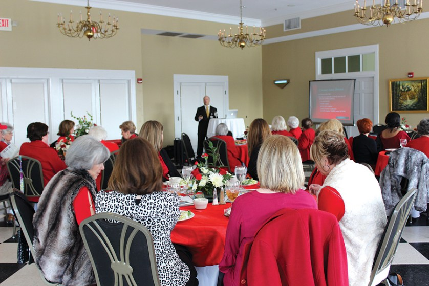 McLeod hosts Go Red for Women events to promote heart health