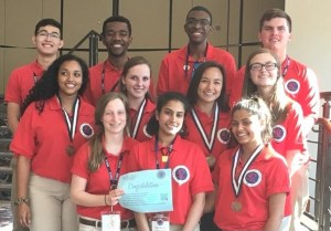 Governor's School for Science and Mathematics HOSA members move on to Nationals