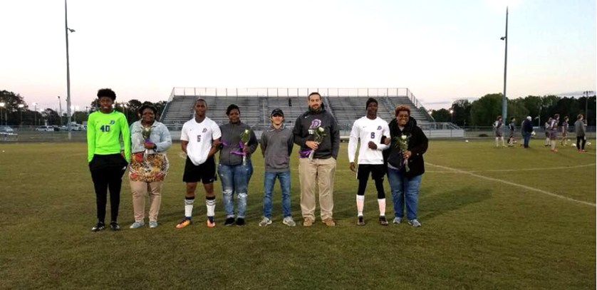 Darlington High School Senior  Soccer Players