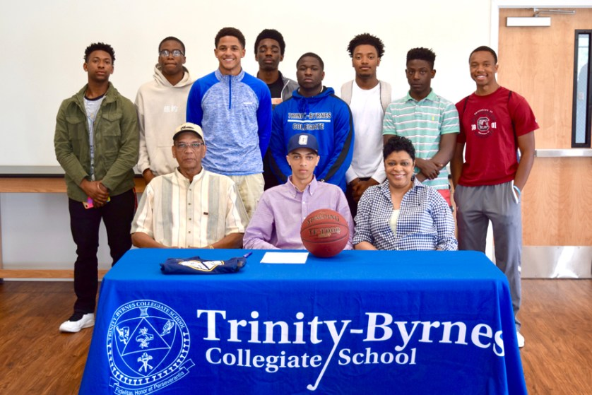Trinity-Byrnes' Miles signs  with Coker College