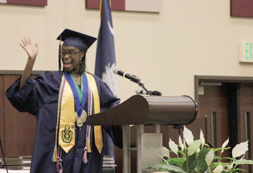 Eldridge tells Mayo graduates to remember who they are and where they came from