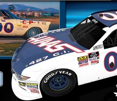 Cole Custer pays tribute to A.J. Foyt with  throwback paint scheme for Darlington