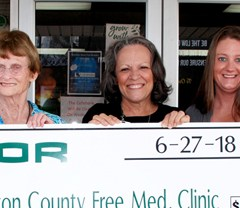 Nucor makes donation to Free Medical Clinic