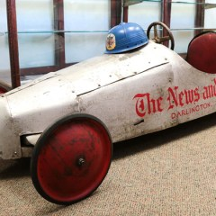 Soapbox Derby winner donates car to Historical Commission