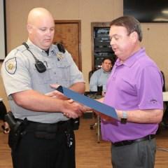 Darlington County Council honors DCSO Deputy