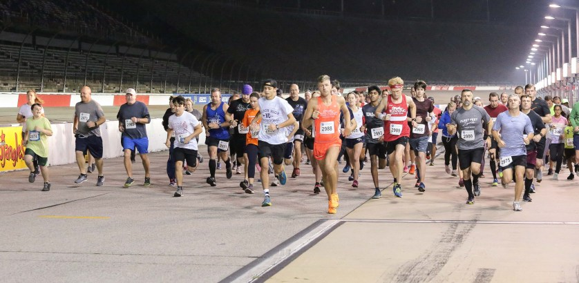 Darlington Raceway hosts 5K Under the Lights