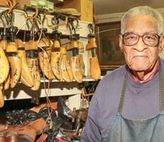 Sole survivor: Simon retires from shoe biz at 91