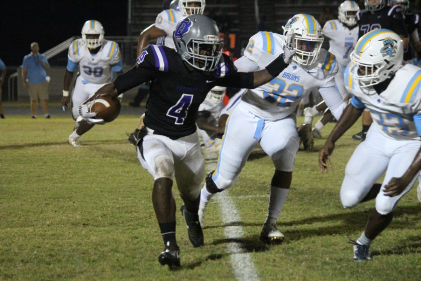 South Florence strikes quickly and often  as it rolls over Darlington 47-7