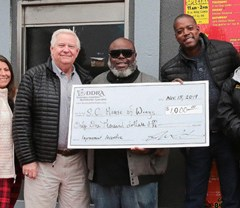 DDRA presents Incentive Improvement grant to S.C. House of Wings