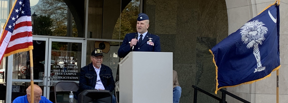 Darlington celebrates Veterans Day