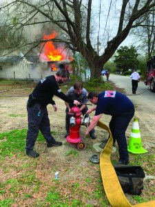 Hartsville Police Department assisted Hartsville Fire Department March 26