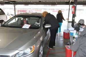 5,000 return to Raceway for 2nd COVID-19 vaccination