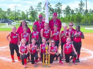 Hartsville's Dixie Youth 8U Softball Team headed for World Series